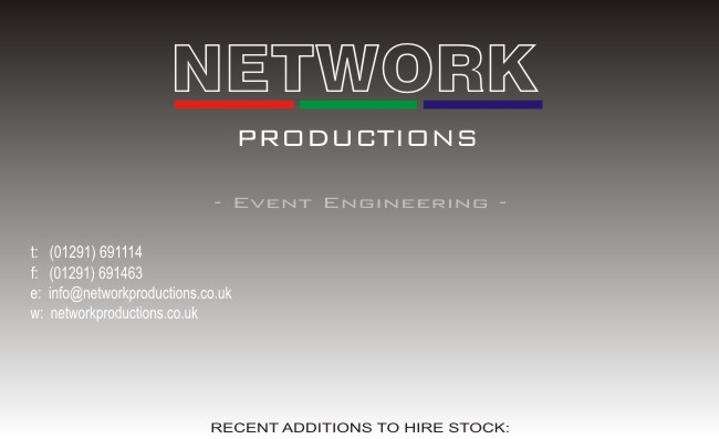 Network Productions - Event Engineering -